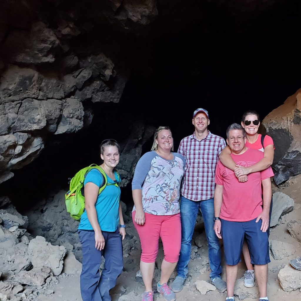 Lava tube in St. George
