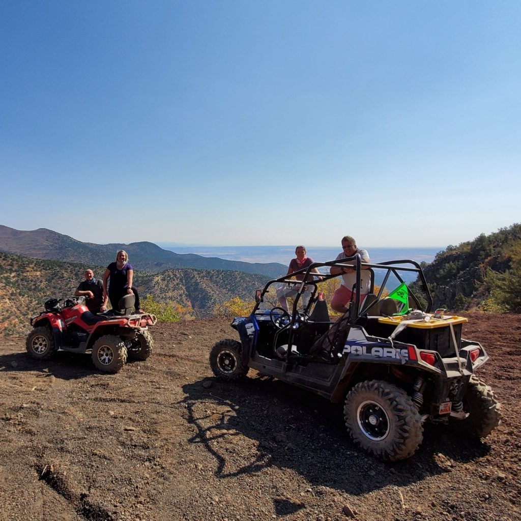 ATV ride in the Pine Valley Mountains